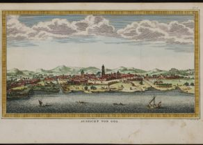 View of Goa by Jacques Nicolas Bellin 1751