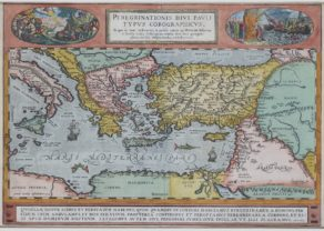 Pualus' Travels by Ortelius 1598