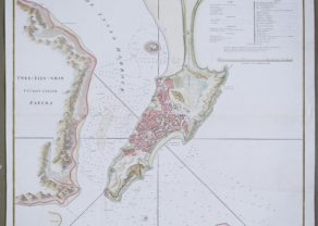 Large map of Macao by Stauton, 1796-1797