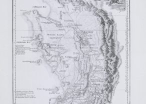 Large map of Cape of Good hope by Schraembl after de la Rochette, 1789