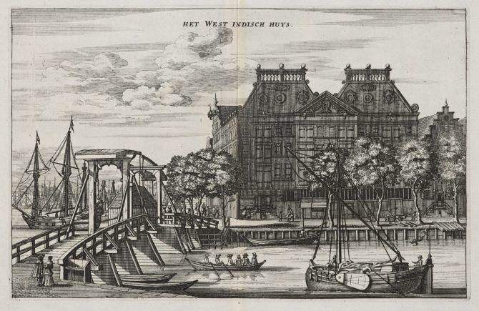 WIC storage facility in Amsterdam by Dapper, 1663