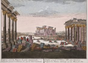 Optica print of Palmyra in Syria