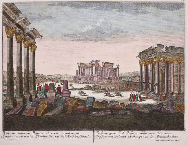 Optica print of Palmyra in Syria