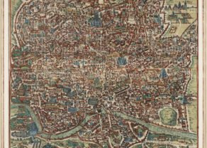 old map Ancient Rome by Van der Aa, 1729