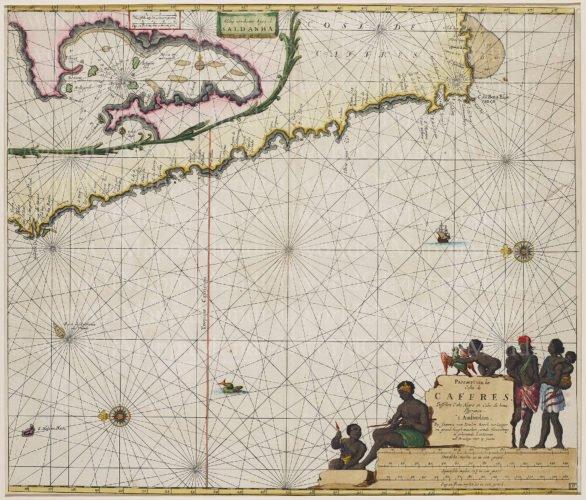 Cape of Good Hope by van Keulen, 1697
