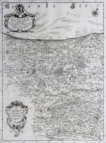 Fiandra parte occicentale, Coronelli, ca. 1650