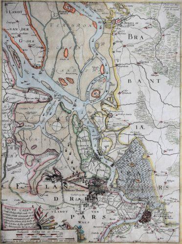 Pieter Verbiest Scheldt River 1638