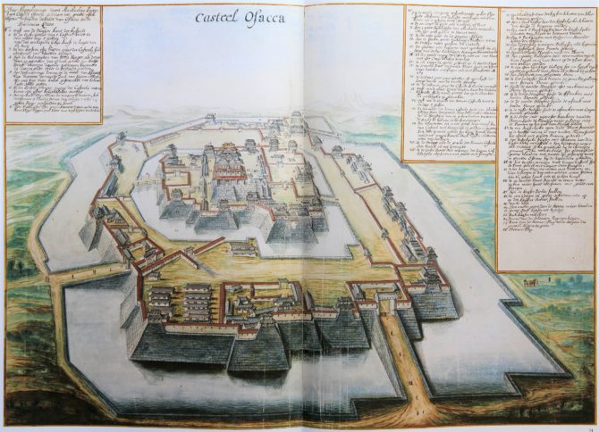 Vingboon's Atlas on Dutch East and West Indies (V.O.C. & W.I.C.) Osacca 1621-1650