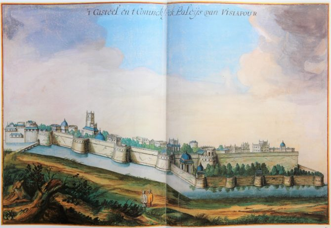 Vingboon's Atlas on Dutch East and West Indies (V.O.C. & W.I.C.) Visiapour 1621-1650