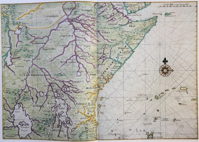 Vingboon's Atlas on Dutch East and West Indies (V.O.C. & W.I.C.) West coast Africa 1621-1650