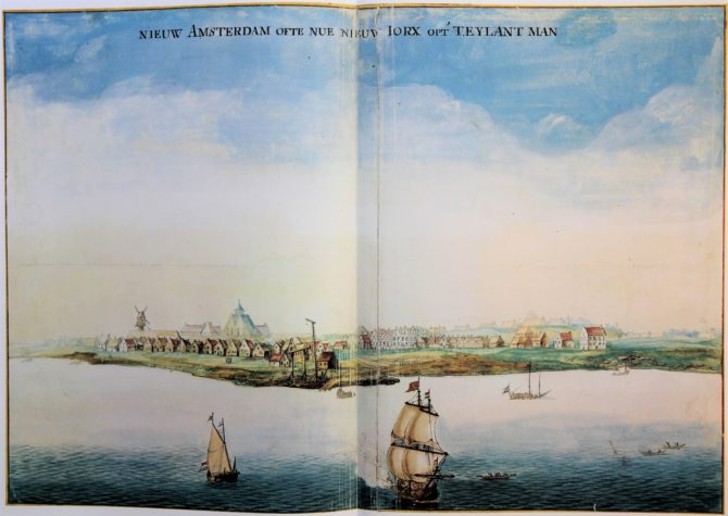Vingboon's Atlas on Dutch East and West Indies (V.O.C. & W.I.C.) Nieu Amsterdam - New York, 1621-1650