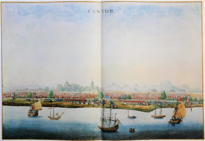 Vingboon's Atlas on Dutch East and West Indies (V.O.C. & W.I.C.) Canton 1621-1650