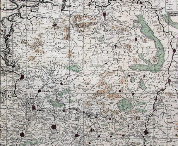 Flandria comitatus et Brabantiae ducatus (Brabant), Schenk, ca. 1700