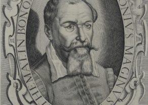 Portrait of Italian mapmaker Giovanni Magini, 1620