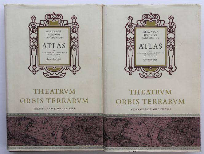 Facsimile of Mercator-Hondius-Janssonius atlas 1636, 1968