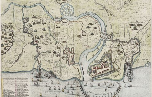 Geertruidenberg, Blaeu 1649